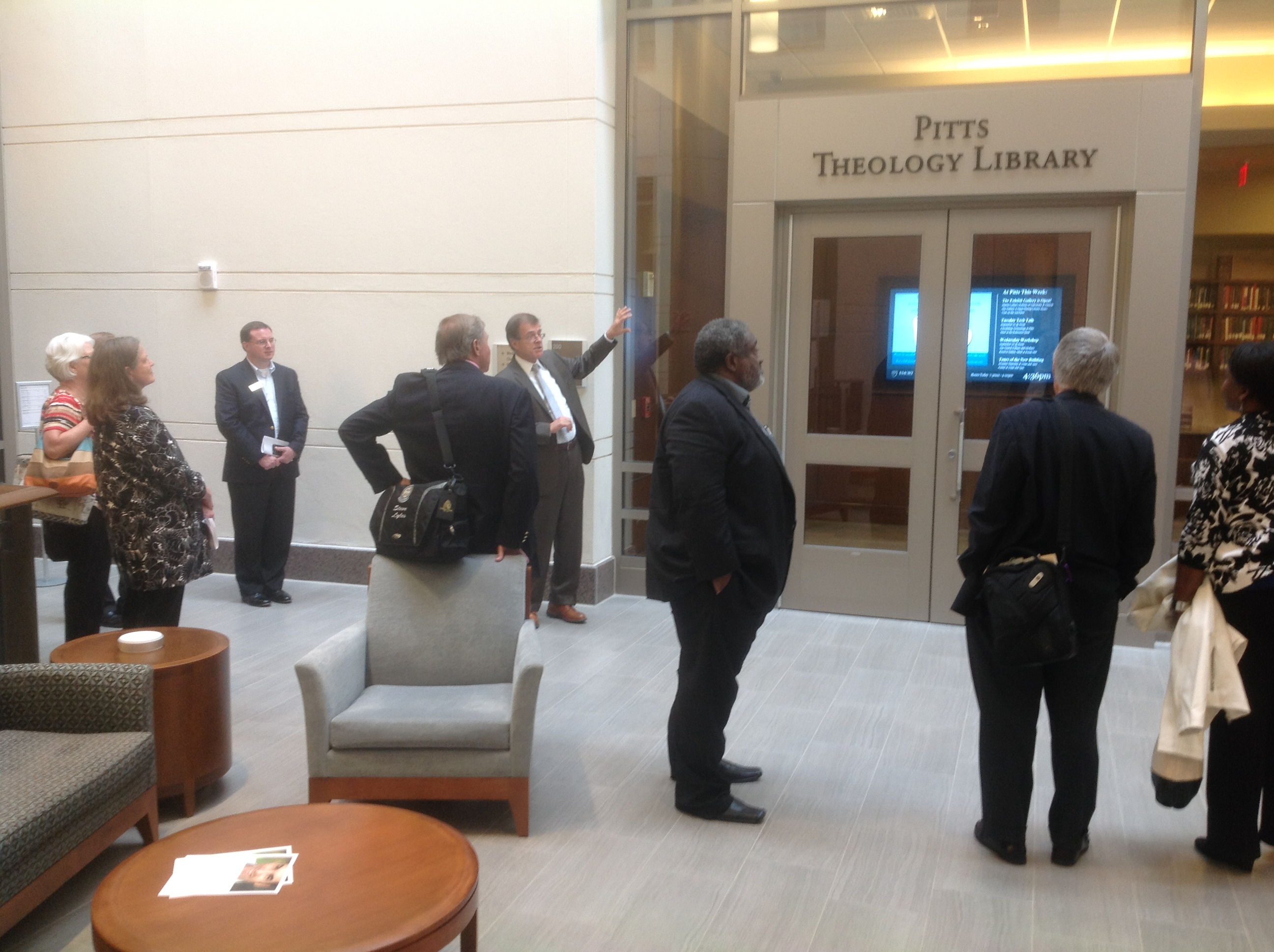 New Pitts Library at Candler-SEJCCA tour
