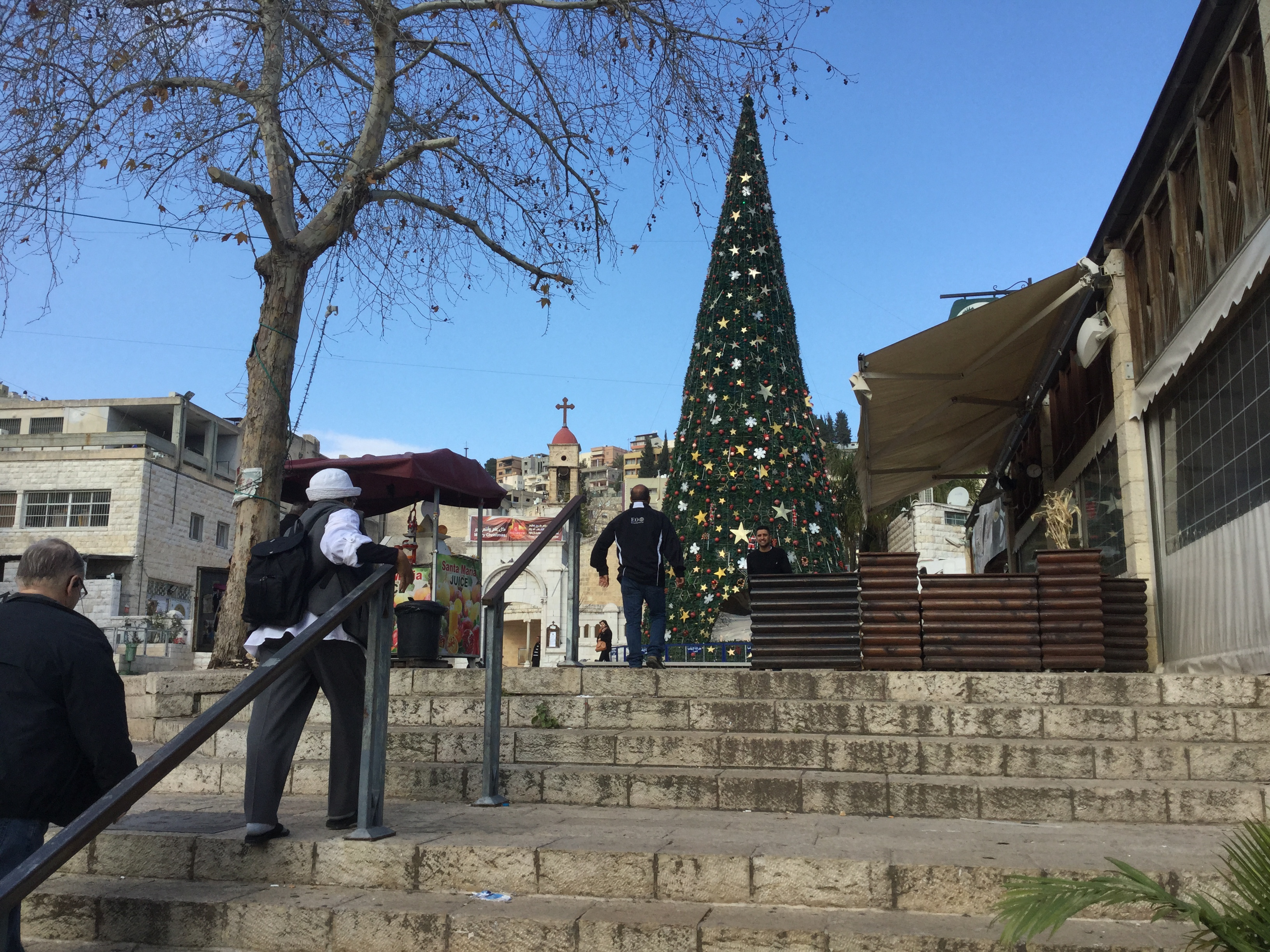 Christmas Tree in Nazareth