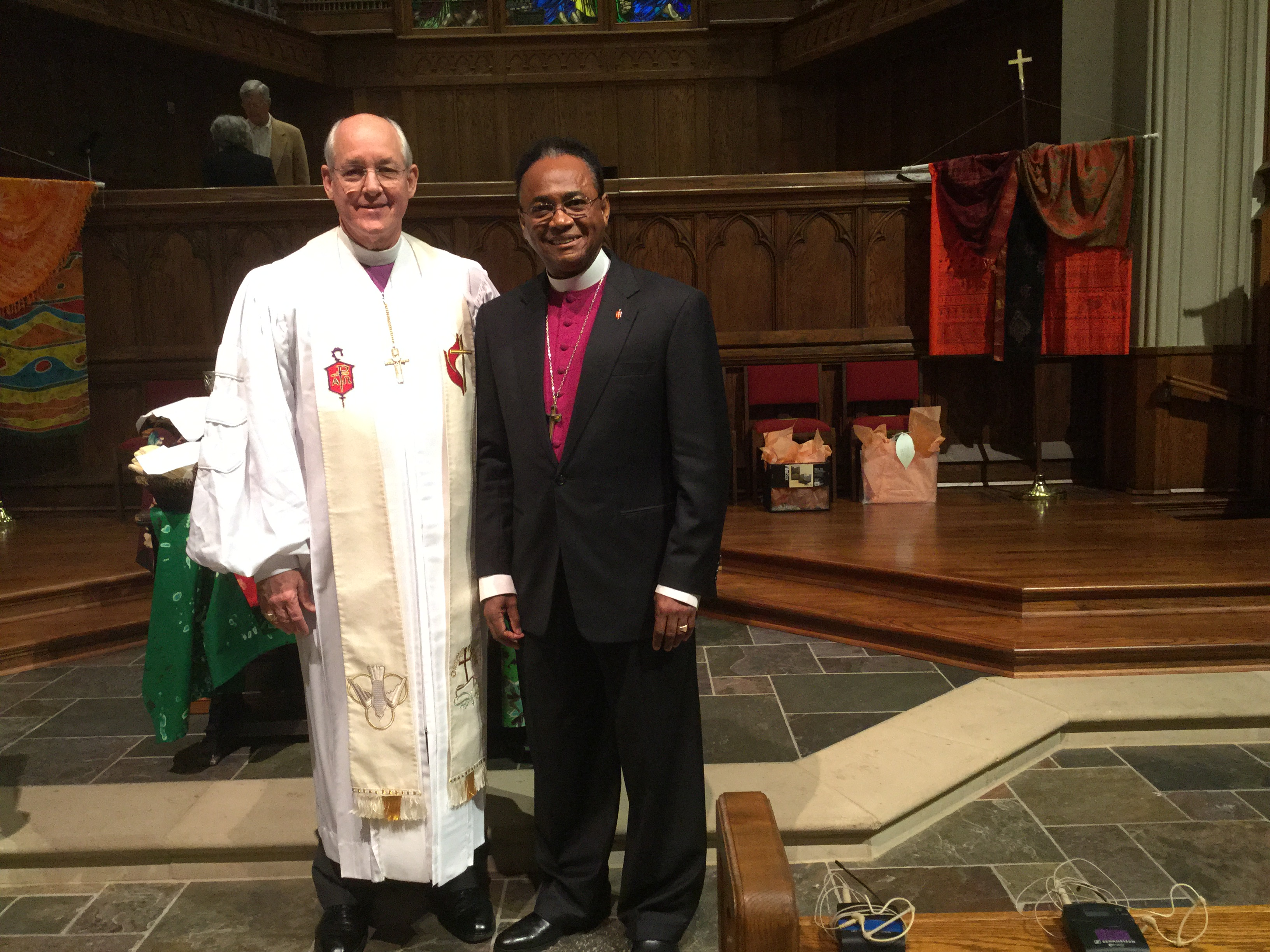 North and South GA Bishops come together for GBGM service