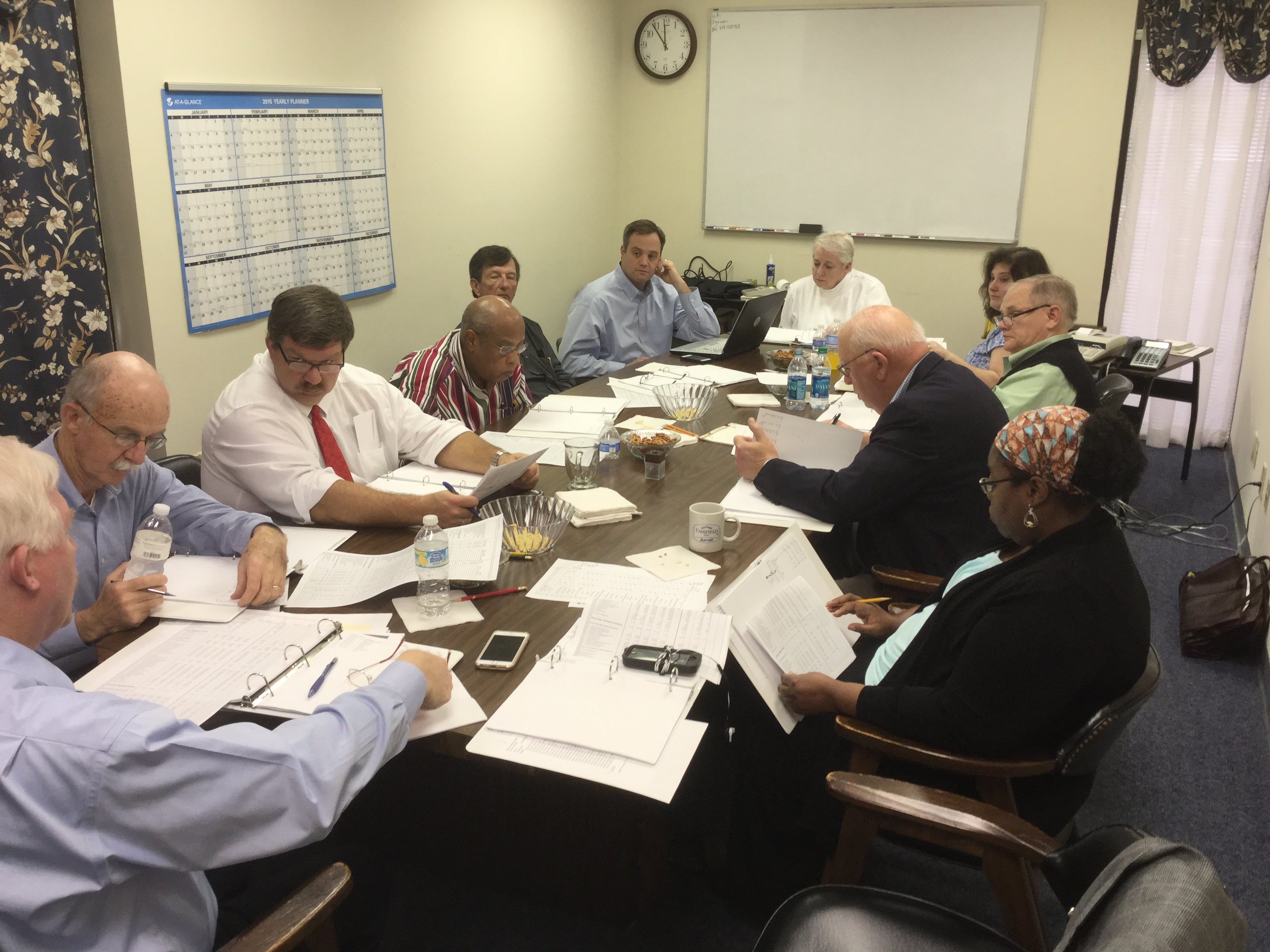 CFA Budget Committee 3-5