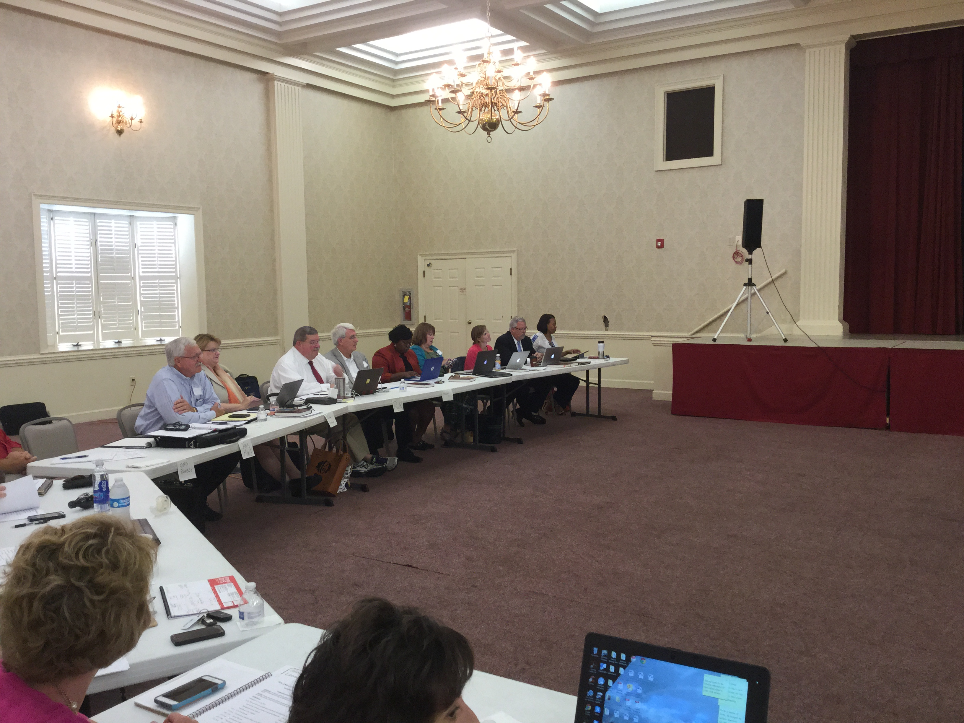 Cabinet attend legal training in Augusta