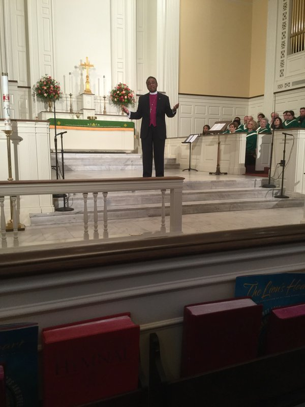 Preaching at St. Luke